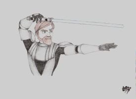 Obi-Wan Kenobi by teo4ever