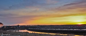 Sunrise over Dieppe by Brian-B-Photography
