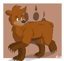 Brother Bear by ScruffMuhGruff