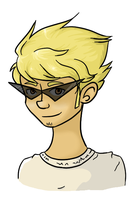 Dirk Strider by m0ssi