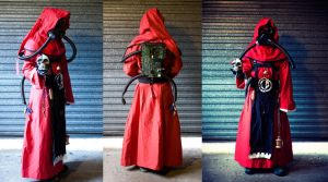 Tech Priest costume by ashblackthorn