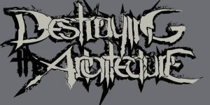 Destroying the Architecture band logo by jerryernst3