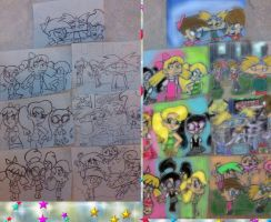 My Favorite Nicktoons Merge by pictureprincess