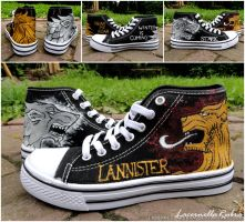 Game of Thrones Shoes by LacernellaRubra