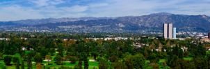 Beautiful Downtown Burbank by robert-kim-karen