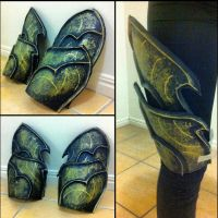 Sylvanas windrunner - leg armor in progress by ArtisansTheory