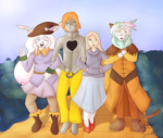 CE: We're off to see the wizard! by LyricaLupin