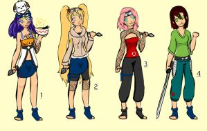 Narutos daughters- the legacy by pinkiblu