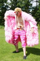 Doflamingo cosplay 2 by XenoKrelian