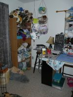 Inside the craft room by Eliea