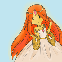 Flame Princess~ by Pompadour-domain
