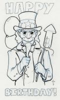 Uncle Sam sketch by vonholdt