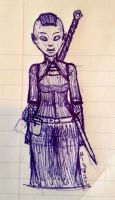 Skyrim Doodles - Noacora by TheLadyOfBlack