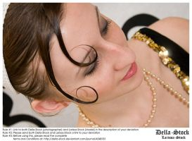 Flapper-Face Details by Della-Stock