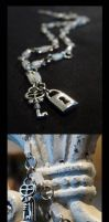Lock and Key Necklace by Fay-san
