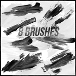 Brushes, Paint Strokes #1 by xx-Anya