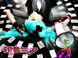 miku hatsune poker face version by neliiell