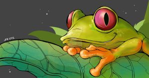 Frog by JFRteam