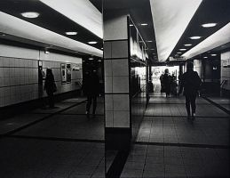 Reflections in the Subway by VelvetRedBullet