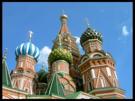 Saint Basil's Cathedral by OrangeRoom