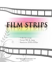 3D film Strips Stock by Andrei-Oprinca