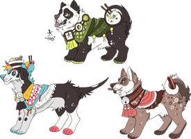 Japanese Dogs [CLOSED] by Plumbeck