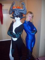 Samus and Midna 2 by Kickgirl52