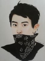 chanyeol for anny~ by ciansshit