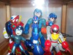MegaMan Model Collection 1 by Gileum