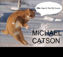Lolcat: Michael Catson by sidser