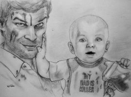 My dad is killer by kalnobe