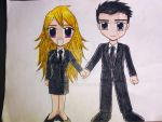 Chibi Agents P and Y.. by e31