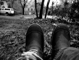 Lonely Boots by TheCagedBird
