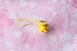 Jake The Dog Charm by Claycreations96