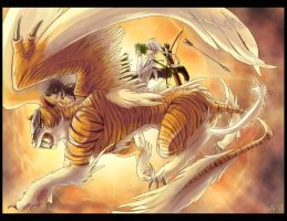 CEAL : winged tiger by Sa-Dui