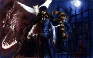 """Harry """"White Flames"""" Potter by humantyphoon89"""