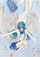 Aiko Yukami my Angel by Serihalt