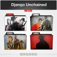 Django Unchained (Folder Icon) by limav