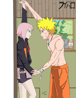 NaruSaku: Temptation by Ryeharo
