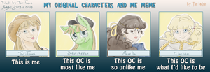 My OCs and me Meme by TariToons