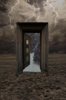 Winter Door by DreamChaseStock