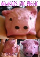 Oinkers: The Paper Mache Pig by ElectricDinoSaur