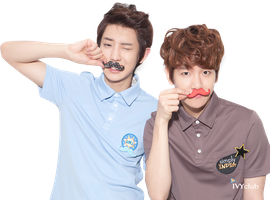 EXO Baekyeol (PNG) by Deerhansic
