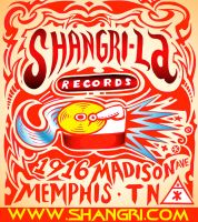 Shangri-La Records Ad by hyronomous