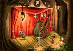 The Music Band by the-awaken
