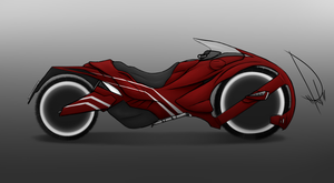 Motorcycle Concept by kaniphish