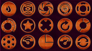 300 Leather Sozial Media Icons - Part 3 by llexandro