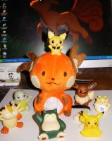 Raichu the Second by StitchyGirl