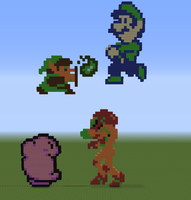 8-Bit Super Smash Bros. 2 by UKD-DAWG