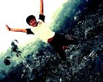 flying in the air by JONY-CAKEP